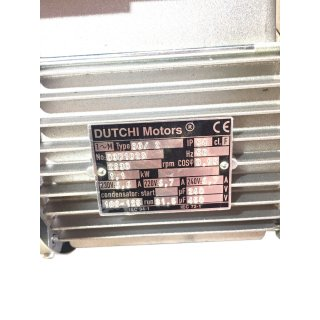 Dutchi Motors Typ 80/2 1,1 KW