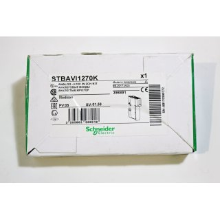 Schneider Electric Standardset Analogeingang Modicon Typ STBAVI1270K -Neu/OVP