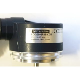 Telemecanipue Encoder ABS ENCDR MULTI TURN XCC-2506PS81KGN -Gebraucht/Used